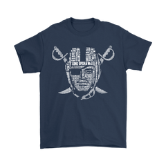 American Football NFL All Players Team Oakland Raiders Shirts T-Shirt - Catsolo.com