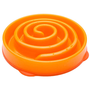 Outward Hound Fun Feeder Bowl Orange - Pet Star