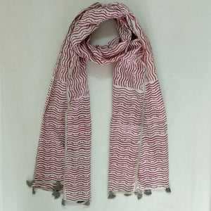 Organic Herbal Dyed Scarf