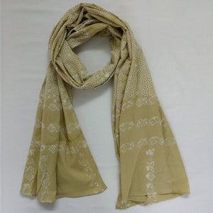 Organic Yellow Scarf