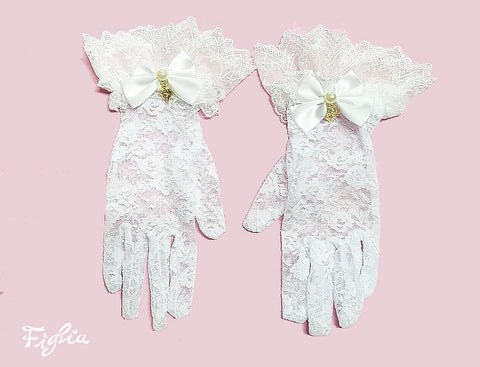 Classical Lace Gloves
