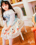 Closet in Wonderland Kid Set-JSK+KC