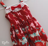 Strawberry Flowery JSK- kid size