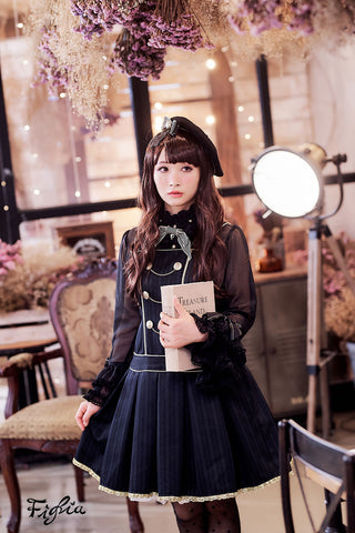 D058 Knight School Jumper Skirt