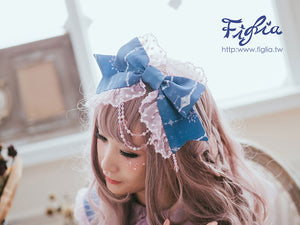 H127 Twinkle Star Dazzling Kitten Lace KC