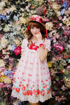 H125 Flowery Strawberry Hat