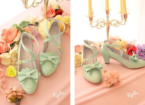 O036 Dear My Princess Shoes - 3 color