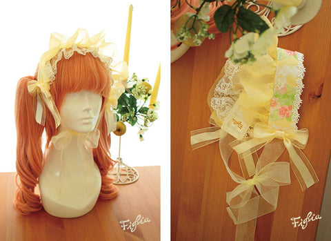 H0103Forest Tea Party Bonnet