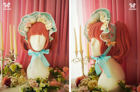 H094 Closet in wonderland bonnet- 2 color