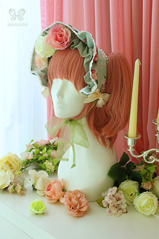 H098 Goddess of Spring Bonnet
