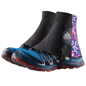 Guêtres pour le Trail Running Noir et rose Strendly Trail & Running