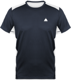 Tee shirt Trail Running Homme Navy / White / XS pour le Trail et le Running par Tunetoo