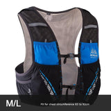 Gilet d'hydratation C933 5L par AONIJIE ML Noir Strendly Trail & Running