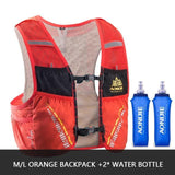 Gilet d'hydratation C933 5L par AONIJIE ML Orange 2 flasques Strendly Trail & Running