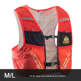 Gilet d'hydratation C933 5L par AONIJIE ML Orange Strendly Trail & Running