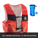 Gilet d'hydratation C933 5L par AONIJIE ML Orange poche à eau 2L Strendly Trail & Running