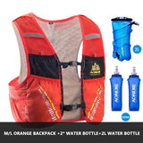 Gilet d'hydratation C933 5L par AONIJIE Orange complet Strendly Trail & Running