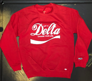 Let A Delta Change Your Life Sweatshirt