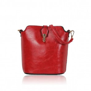 Over The Shoulder Fashion Hand Bag Red