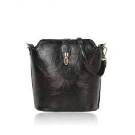 Over The Shoulder Black Hand Bag