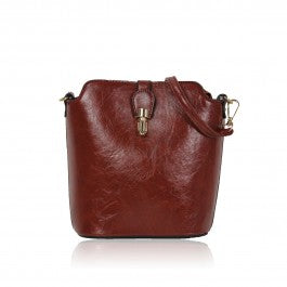 Over The Shoulder Brown Hand Bag