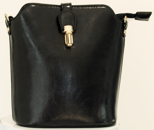 Over The Shoulder Navy Hand Bag