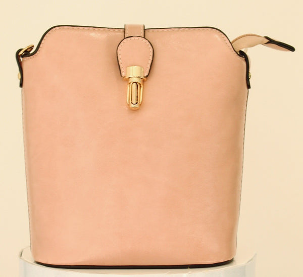 Over The Shoulder Hand Bag Nude