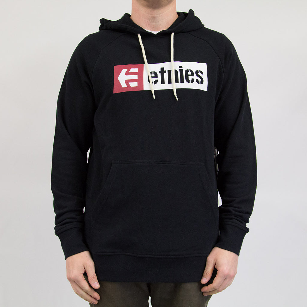 Etnies New Box Hooded Sweat Black