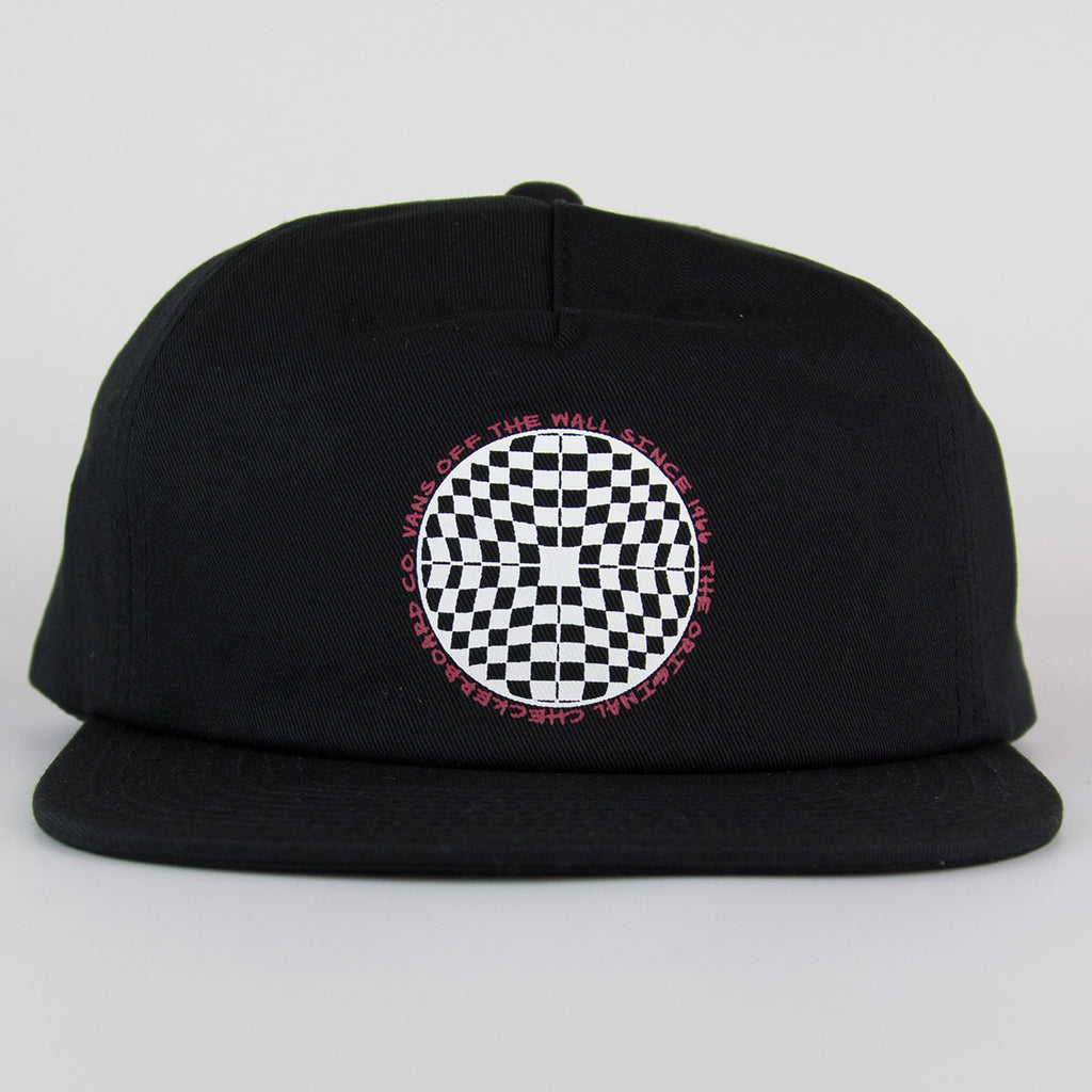 Vans Checkered Shallow Unstructured Snapback