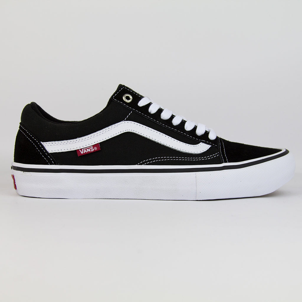Vans Old Skool Pro Black White - FoundationBMX 361fbc4b1b