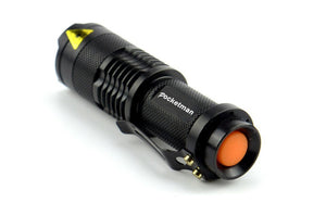 Pocketman™ Superbright 2000LM Waterproof Pocket Flashlight