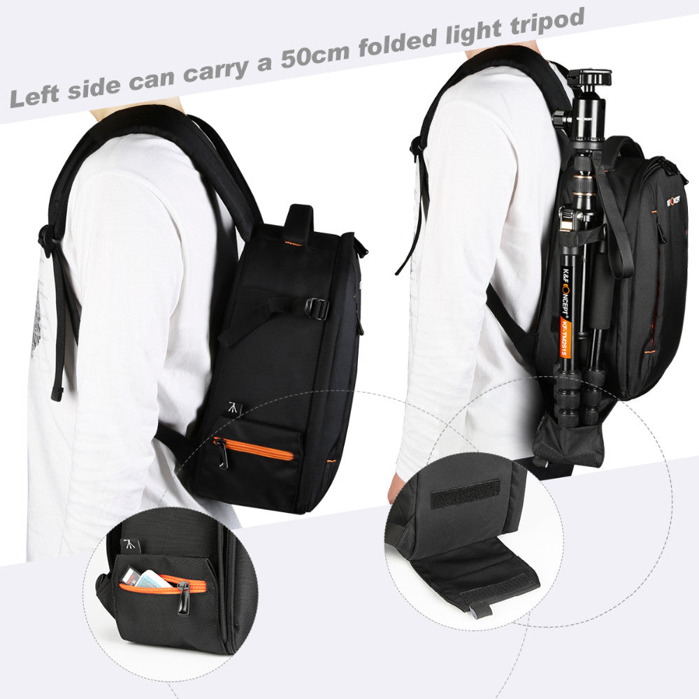 K&F CONCEPT Waterproof Camera Small Backpack