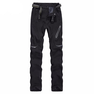 ZENGKER Thick Waterproof Quick Dry Pants Men