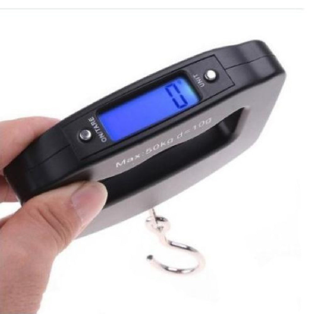 Portable LCD Digital Electronic Luggage Hook Scale