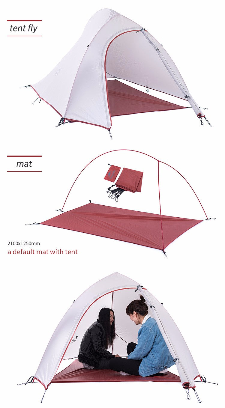 NatureHike Two Men Double-layer Tent