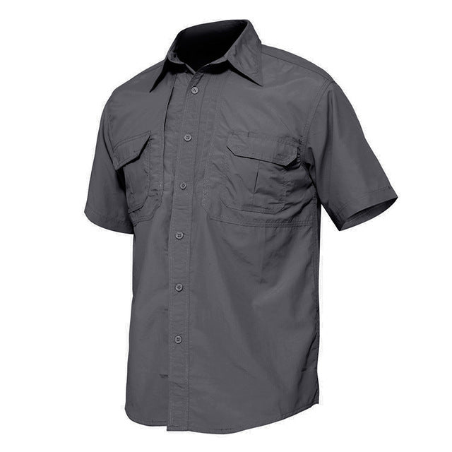 WOLFONROAD Quick Dry Waterproof  Hiking Shirt