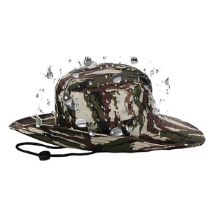 Waterproof Tactical Military Camouflage Bucket Hat