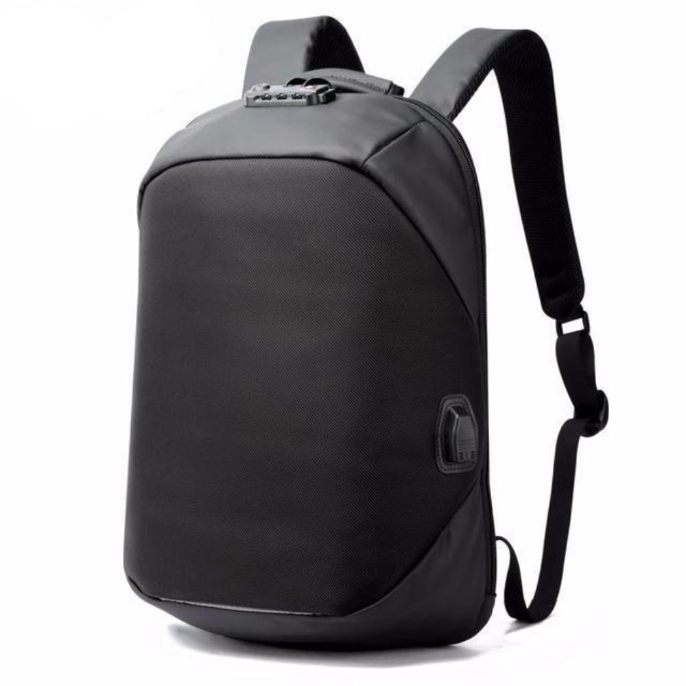 BOPAI Waterproof USB Port Anti-Theft Backpack