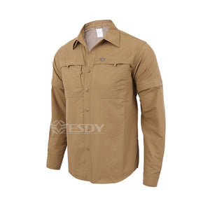 Quick Dry Breathable Anti-UV Long Sleeve Shirt Men