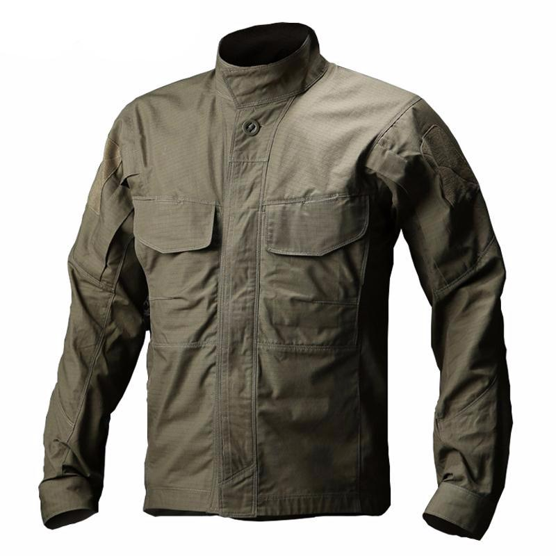 WOLFONROAD Military Waterproof Breathable Long Sleeve Shirt