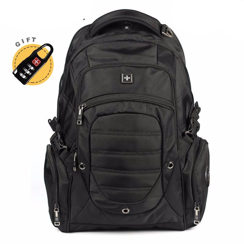 "SwissWin Waterproof Multifunctional 38L 15"" Laptop Backpack"