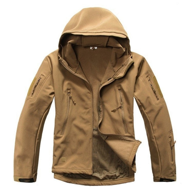 Military Waterproof Windproof Hooded Camo Army Parka