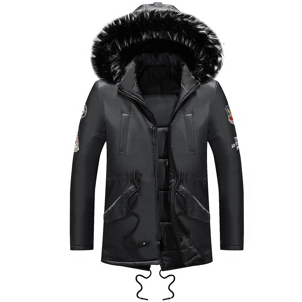 Wolfenroad Windbreak Fur Casual Parka