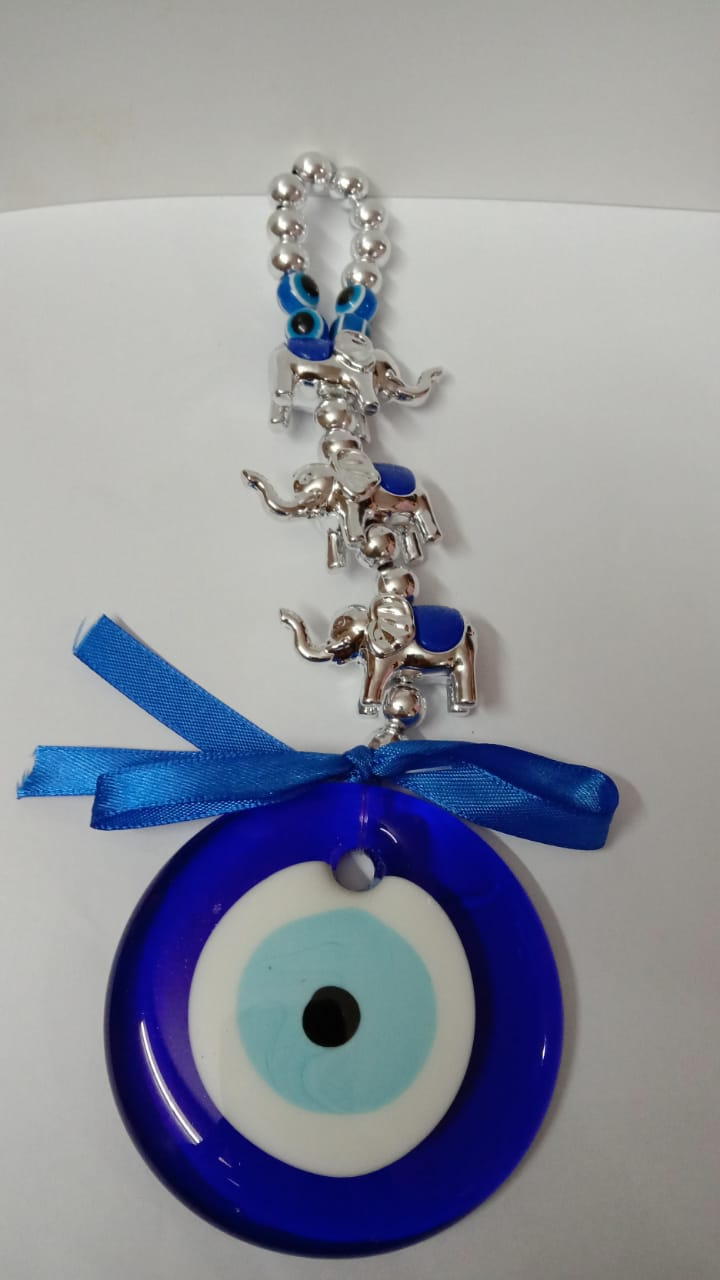 Evil Eye With Victory elephants