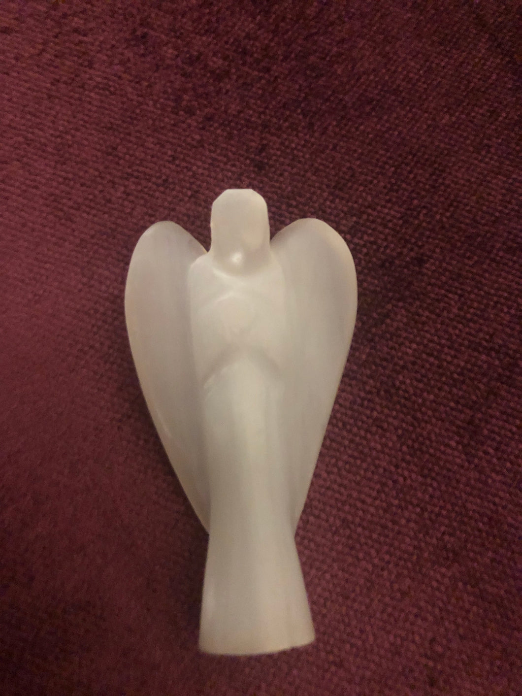 Selenite Angel - Archangel Metatron