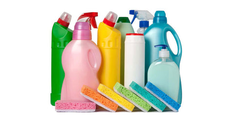 Using Household Cleaners