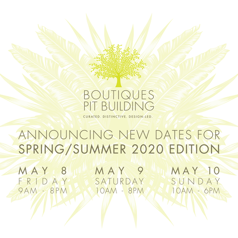 Boutique Fairs 2020 in May TOUFIE