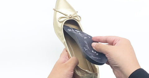 Remove them from your shoes to let them dry out