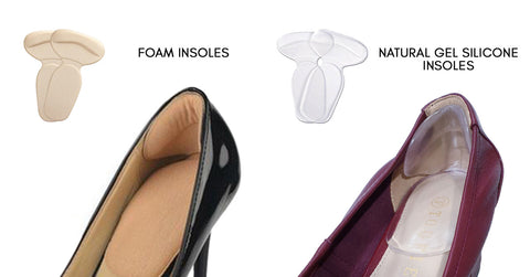 What are insoles made from?