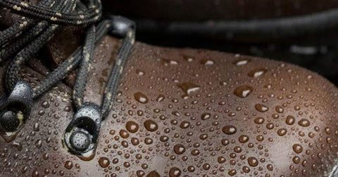 Water to bead on the surface